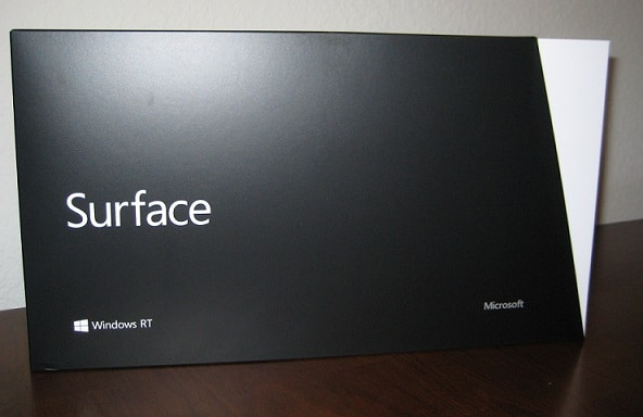 microsoft surface rt box